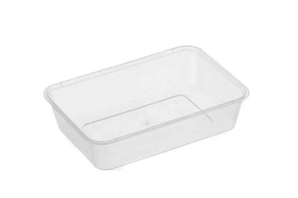 Genfac Rectangle 500ml Container 50